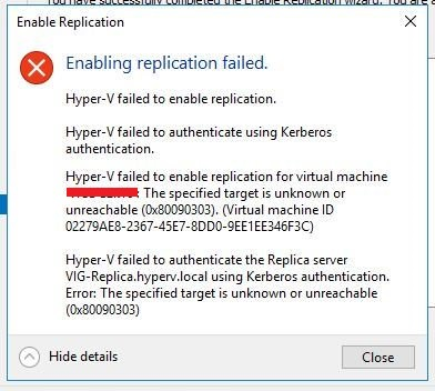 hyper-v_replication_Failed_999tech